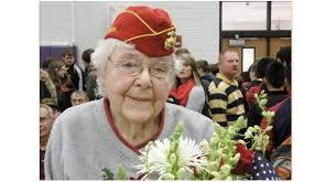 A final salute to oldest female Marine veteran | | times-journal.com