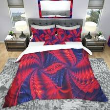trendy duvet covers red and purple pinwheels modern amp contemporary cover set king size