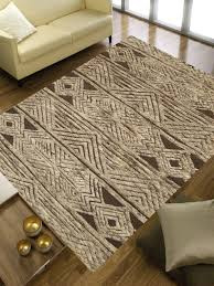 rugsville moroccan natural soft wool rug 5 x 8