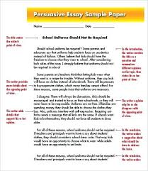 argumentative persuasive essay examples spend time showing  argumentative persuasive