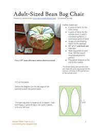bean bag chair six