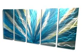 turquoise metal wall art teal and brown wall art awesome turquoise metal wall art brown and