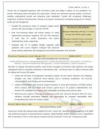 Audit Manager Resume Samples Executive Resume Samples Professional Resume Samples