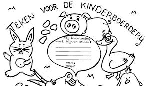Zutphenaren Starten Kleurplatenactie Voor Kinderboerderij Contact