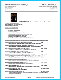 Download Basketball Coach Resume Haadyaooverbayresort Com