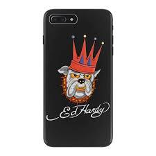 ed hardy bulldog iphone 7 plus case