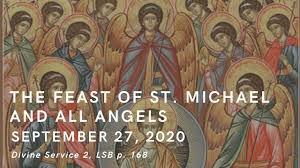 September 27, 2020: The Feast of St. Michael and All Angels - YouTube