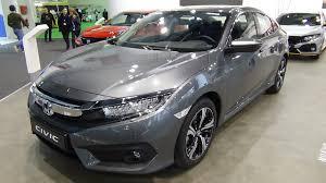 2018 Honda Civic Sedan  Exterior And Interior Automobile Barcelona 2017  YouTube