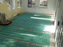 warmly yours electric radiant heat installation