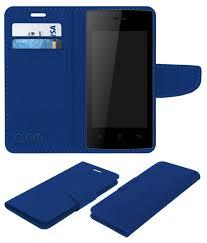 Karbonn A16 Flip Cover by ACM - Blue ...