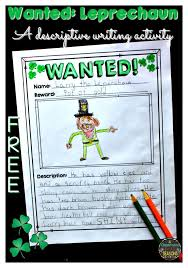 the best descriptive writing activities ideas st patrick s day printables for your classroom have fun this descriptive writing descriptive writing activitiesdescriptive