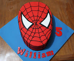 The Flour Bin How To Make An Easy Spider Man Cake