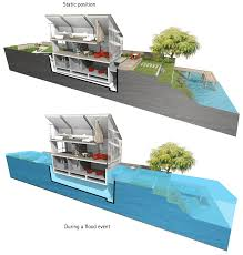 Floating House Plans Uks First Amphibious House Can Float On Floodwater Like A Boat