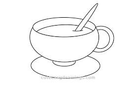 2.draw eyebrows, eyes and mouth on the bottle. How To Draw A Cup Of Coffee Easy Step By Step For Kids Cute Easy Drawings
