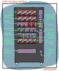How To Hack Snack Vending Machines Mesmerizing Hell's Vending Machine Pleated Jeans