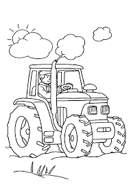 International Tractor Coloring Pages Tractor Coloring Pages Tractor