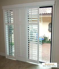 sliding glass door window treatments lowes creative patio blinds