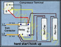 wiring diagram ac compressor wiring image wiring refrigerator hard start wiring diagram jodebal com on wiring diagram ac compressor