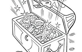 Treasure Coloring Pages Treasure Coloring Pages Free Printable