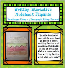 writing foldable for interactive notebook hamburger essay by  writing foldable for interactive notebook hamburger essay