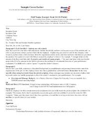 Cover Letter Interest Sample Of For Job Writing A Opening Internal ...