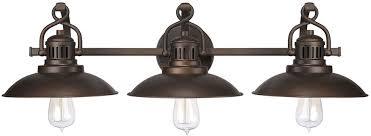 capital lighting 3793bb oneill vintage burnished bronze 3 light bathroom vanity light fixture loading zoom
