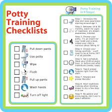 Potty Training Printables Free Printables Potty Training Checklists The Trip Clip