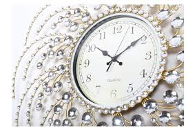 decorative wall clocks crystal decor references
