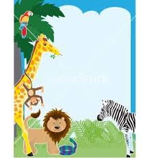 baby animal clipart borders.  Animal Jungle Border Clip Art  Item Clipart Panda Free Images Intended Baby Animal Borders G