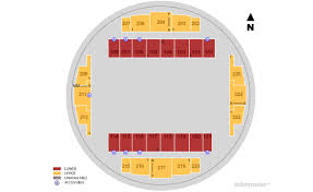 Tacoma Dome Seating Chart With Rows Tacoma Dome Tacoma Tickets Schedule Seating Chart Directions
