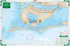 California Nautical Charts Anna Maria Sound And Sarasota Bay Large Print Navigation Chart 21e