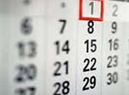Calendario Claustro
