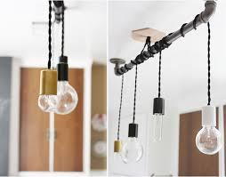diy metal pipe pendant lights