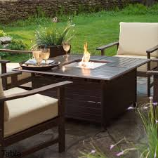 Propane Outdoor Fire Pit Table Fireplace 6 Table Outdoor Fireplace Table Q