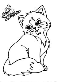 Disegni Da Colorare Cuccioli Gatti Fredrotgans