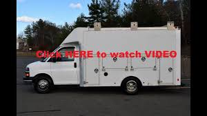 2012 Chevrolet Express Enclosed Utility Van 6.0L Gas - YouTube