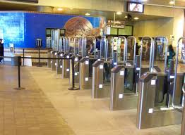 Marta Vending Machines Amazing MARTA Fare Barriers