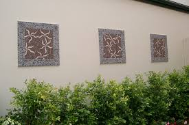 mosaic wall decor: outdoor mosaic wall decor sunshine coast outdoor living designs