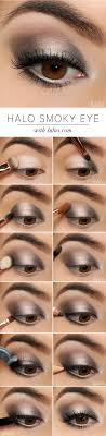 easy makeup tutorials for beginners silver shimmer smokey eye