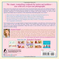 Babies Menu Planner The Healthy Baby Meal Planner 200 Quick Easy And Healthy Recipes