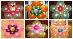 3 fix some balloon bunches on ceiling wall as your choice