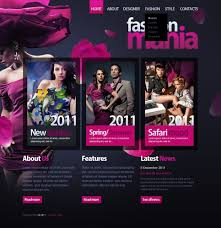 Fashion Psd Template 56916