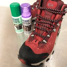 7 add some waterproofing if you fancy why not for these boots nikwax nubuck suede proof spray on was applied while still wet