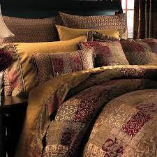 galleria red bedding collection croscill