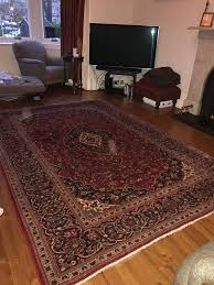 large ikea persian rug reduced for quick