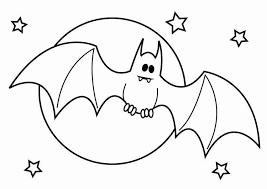Kleurplaat Vleermuis Halloween Afb 26436 Images