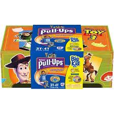 Huggies Pull Ups Size Chart Huggies Toy Story Boys Pull Ups Training Pants Sizes 2t 3t 3t 4t 4t 5t