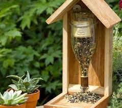 Хранилка за птици в категория градински мебели, декорации. Hranilki Za Ptici Ot Prazni Butilki Maistorplus