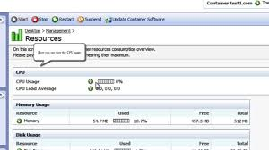 virtuozzo virtuozzo tutorial how to monitor vps resources in virtuozzo power