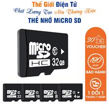 Thẻ nhớ Micro SD 32G/64G/16G/128G/8G/4G/2G - tốc độ cao chuyện dụng cho  Camera, Smartphone, loa đài.